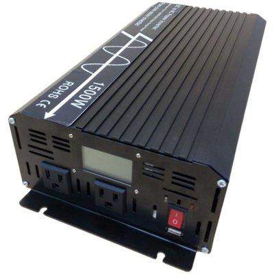 GYS - 1500W 12V - 230V Surging Power European Socket Pure Inverter with LCD Display