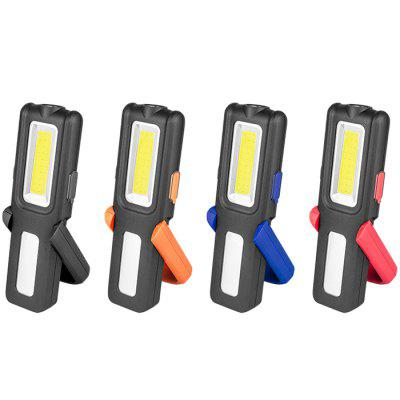 Multi-function With Magnet Stepless Dimming Charging Work Light Outdoor Emergency Light