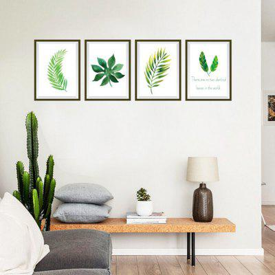 Plant Photo Frame Decorative Wallpaper