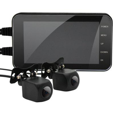MT003 Full HD Front Rear Double Recording Camera Image