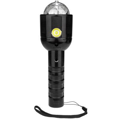 LED Laser Night Lighting Stage Effect Dimming Glare Par Light Multi-function Charging Hand Super Bright Flashlight