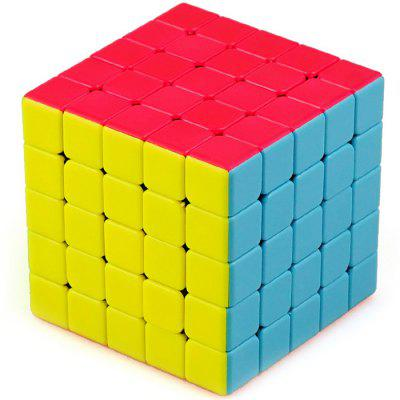 60mm Fifth-order Professional Game Smooth Color Puzzle Toy Cube