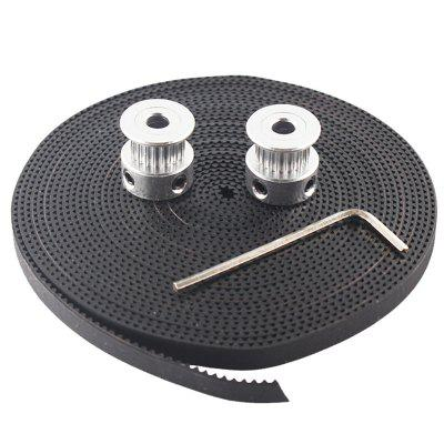 Practical 3D Printer Timing Belt with Synchronous Wheel Kit