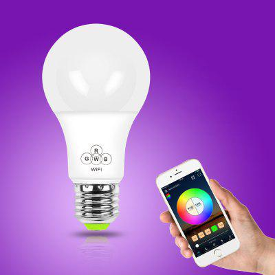 For Only $8.99, the Colorful Smart WiFi LED Light Bulb Supports Alexa / Google Voice Control!