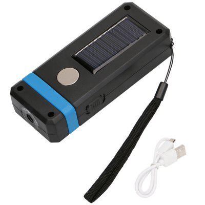 LED Solar Power Charging Work Light Emergency Lamp for Daily Use