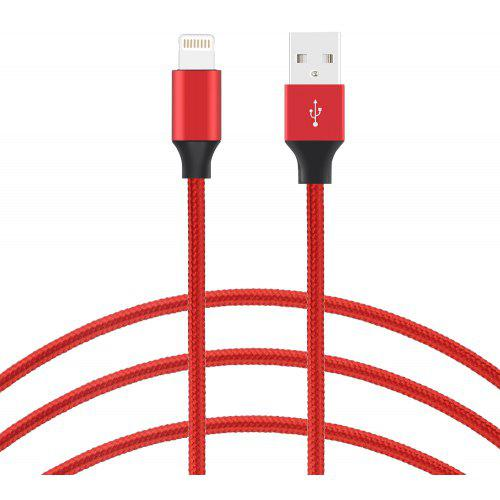 Gocomma Anti-winding Nylon Data Cable for iPhone / iPad / iPod