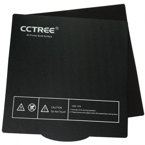 CCTREE Ultra-Flexible Removable Magnetic Build Surface 3D Printer Heated Bed Cover for Ender 3 235x235mm