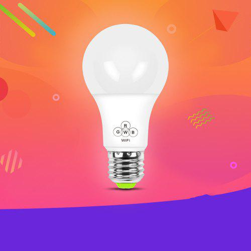 Colorful Smart WiFi Bulb Support Alexa / Google Voice Control for Home