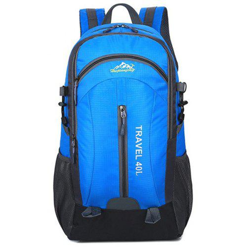 AAA Leisure sports bag outdoor mountaineering bag student backpack large capacity 22L Color : Blue