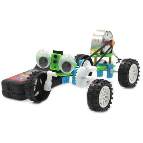 DIY Technology Small Wire-controlled Large Eye Reptile Kit Model Toy
