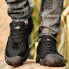 Men's Non-slip Anti-collision Sneakers Outdoor Casual Shoes Hiking - BLACK