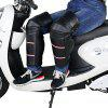 Riding Knee Pad for Winter Cycling Motorcycle 2pcs - BLACK
