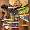 304 Stainless Steel Kitchen Silicone Color Baking Tool Set 10pcs - BLACK