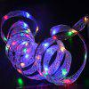 4m 40-LED Colorful Bow Style Ribbon Light for Christmas Decoration - MULTI