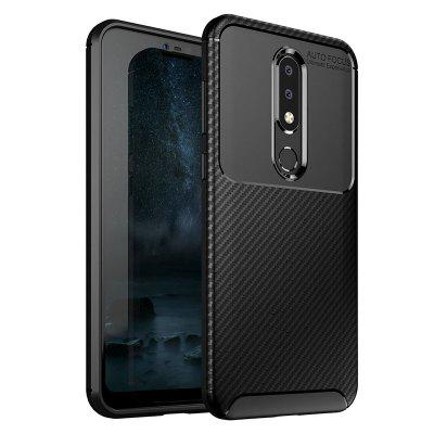 ASLING TPU Soft Phone Case voor NOKIA X6 / NOKIA 6.1 Plus