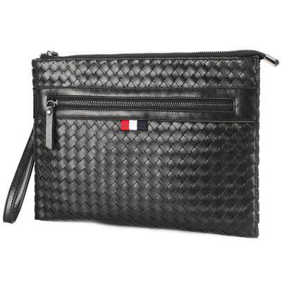 Tide Casual Business Woven Clutch Bag