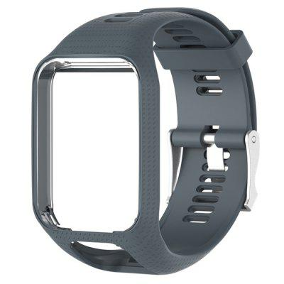 Replacement Rubber Sports Strap forTom Smart Watch Runner2