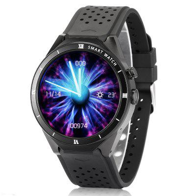 Gearbest $99.99 for Alfawise KW88 Pro 3G Smartwatch Phone - BLACK  promotion