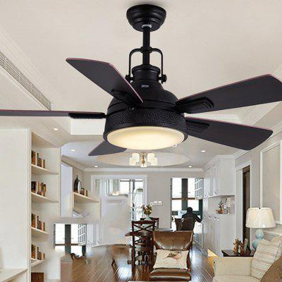 Lighting Wooden Led Fan Light