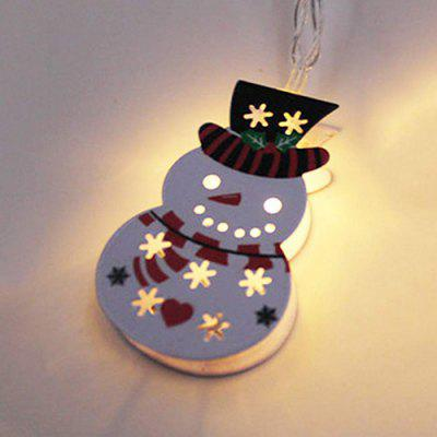 BRELONG LED Christmas Decoration Snowman String Light
