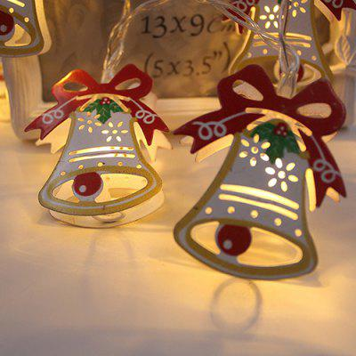 BRELONG LED Weihnachtsdekoration Bell String Light