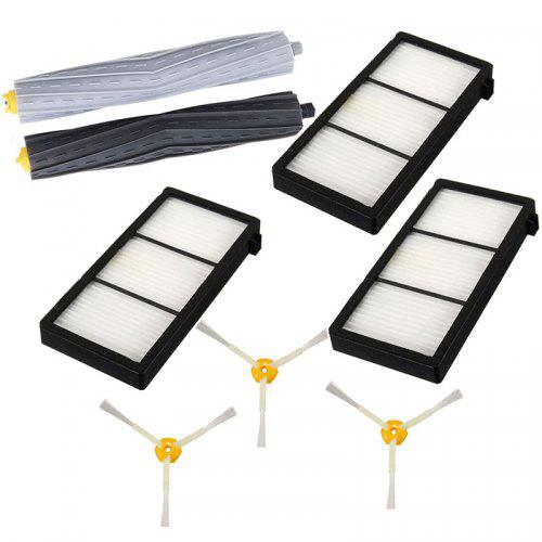 Vacuum Cleaning Side Brush Filters Part Set for iRobot Roomba 800 900 Series IE