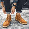 Large Size Men Boots for Winter - BEE YELLOW
