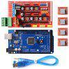 3D Printer RAMPS 1.4 Controller MEGA2560 R3 A4988 with Heat Sink Kit Reprap - SCLL - OCEAN BLUE