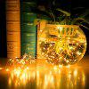 BRELONG 10m 100-LED USB Waterproof String Light for Outdoor Decoration - YELLOW