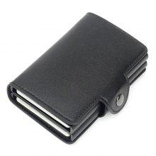 Wallets. 13% OFF Automatic Pop-up Metal Wallet Anti-theft Anti-magnetic Aluminum Alloy Card Holder