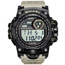 7b3ef82cd1f 25% OFF SMAEL 1545 Outdoor Sports Waterproof And Shockproof Single Display  Men Sports Watch With Box