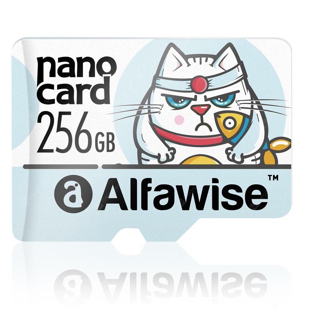 Alfawise 256GB UHS - 3 XC High Speed High Capacity Micro SD Card