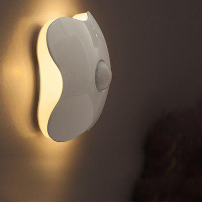 LED Body Sensor Four-leaf Clover USB Night Light