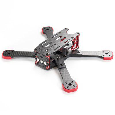 TransTEC Freedom 215mm 4mm 3K Carbon Fiber FPV Racing Frame Kit for RC Drone Multirotor