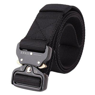 Male Outdoor Training Belt with Cobra Buckle
