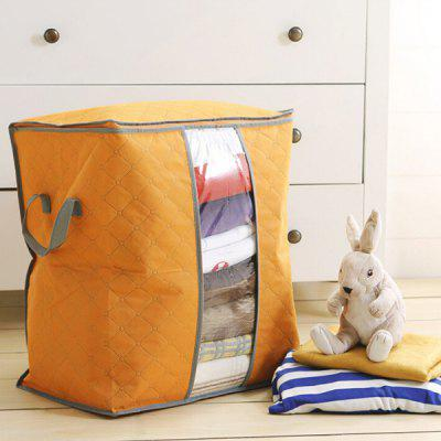 Color Bamboo Charcoal Non-woven Clothing Storage Bag