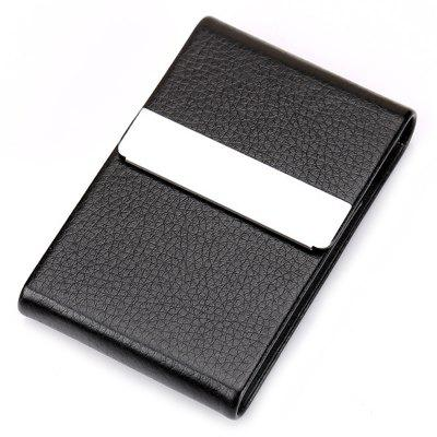Men Business Durable Classic Card Case