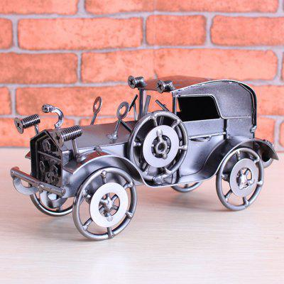 European Retro Crafts Metal Model Old Car Decoration Creative Home Wine Cabinet Small Display Room Ornament