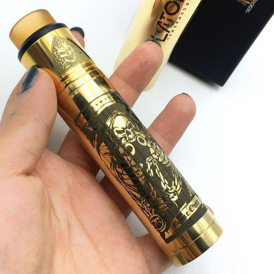 Tower Mechanical Mod Kit Supporting 1pc 18650 Battery