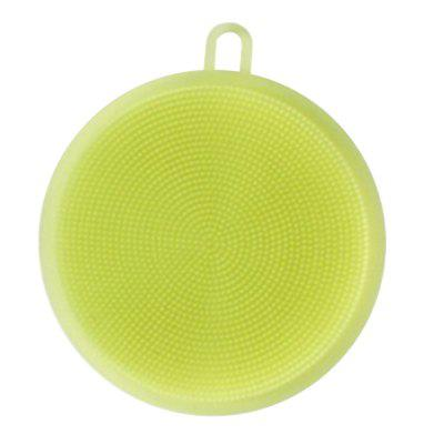 Creative Multifunction Magic Silicone Dish Universal Bowl Cleaning Up Brush Scouring Pad