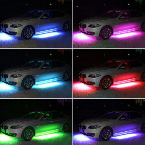 Under Car Chis Lights Strips Rgb Led Neon Underbody Lamps Bars Gearbest