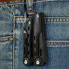Stainless Steel Outdoor Multi-purpose Folding Pliers - BLACK