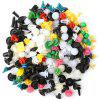 CZGJ-017 Universal Motorcycle Buckles Car Trim Panel Expansion Screw Fastener Rivet Clips 500pcs - MULTI