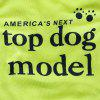 Clothing Polyester Ultra-thin Breathable Super Model Small Dog Vest - RED