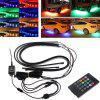 Car Chassis Light Strip RGB LED Neon Underbody Lamp Bar - MULTI-A