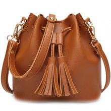608b167d6c49 4% OFF Women s Tassel Casual Shoulder Handbag