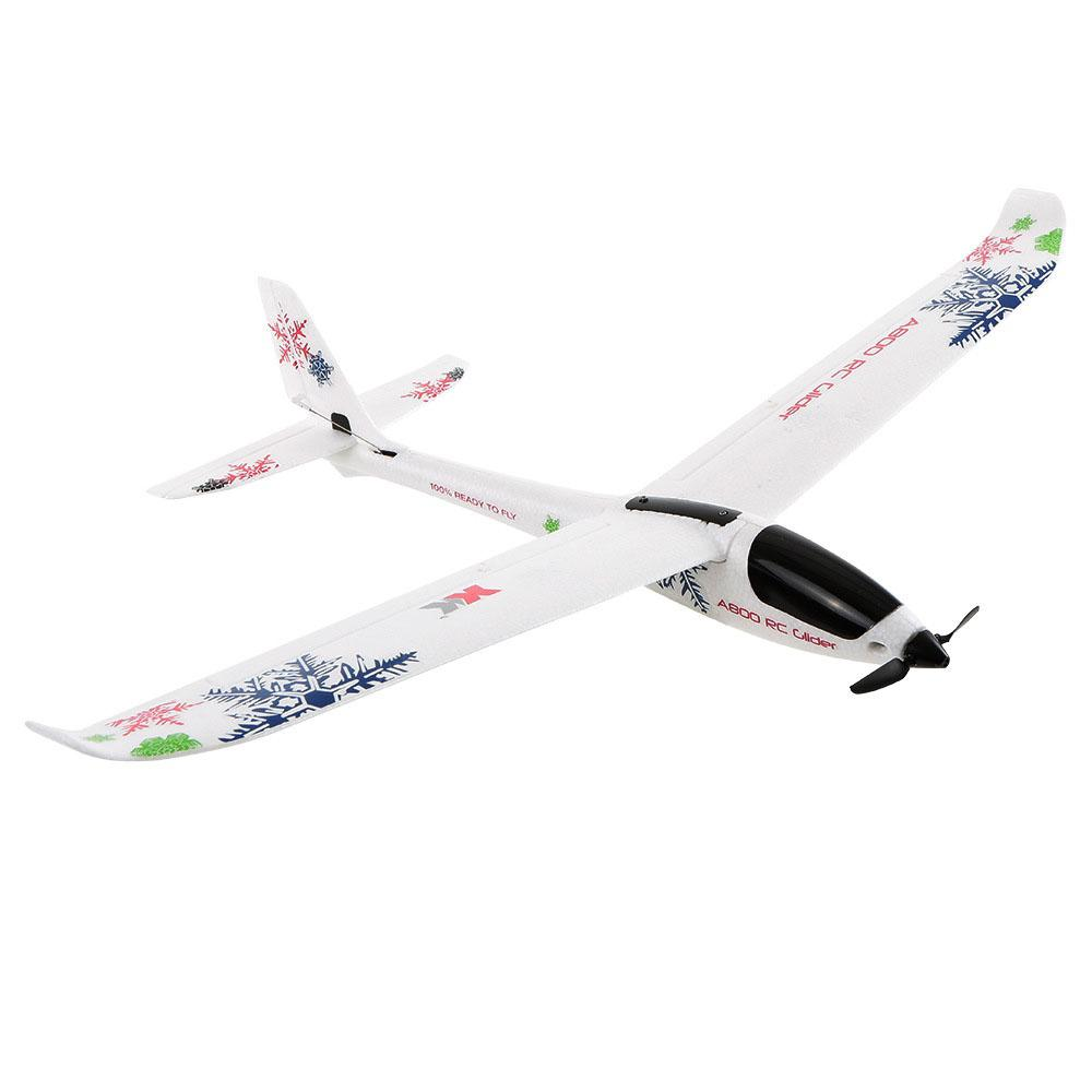 A800 Hand Throwing Aircraft Foam 5 Pass Fixed Wing Remote Control Glider  Cyclotron Electric Plane