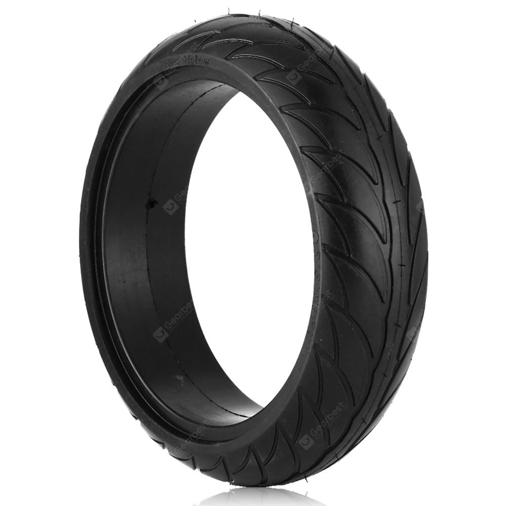 Gocomma 8 Inch Electric Scooter Solid Tyre for Ninebot ES2 / ES1 - BLACK - Black