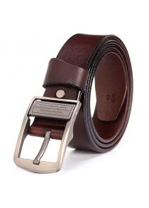 Men\'s Fashion Casual Leather Jeans Belt