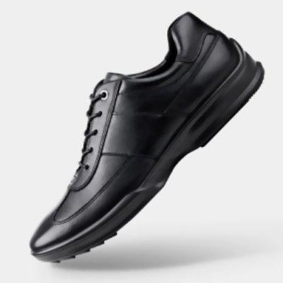 Men Shock Absorption Unibody Wear-resistant Sports Leather Shoes from Xiaomi youpin